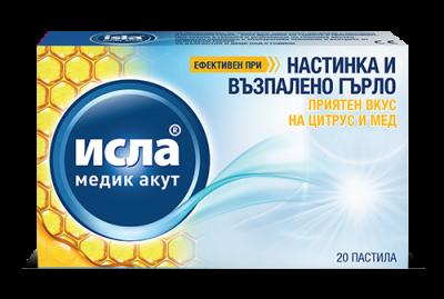 Исла медик акут цитрус и мед